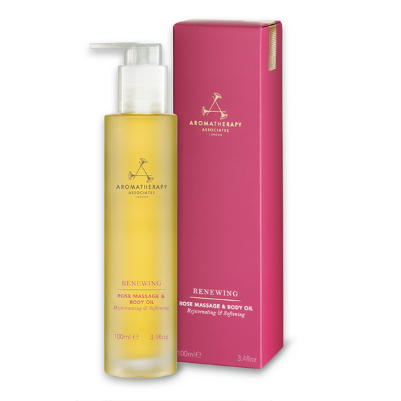 Aromatherapy Associates Renewing Rose Massage & Body Oil 100ml