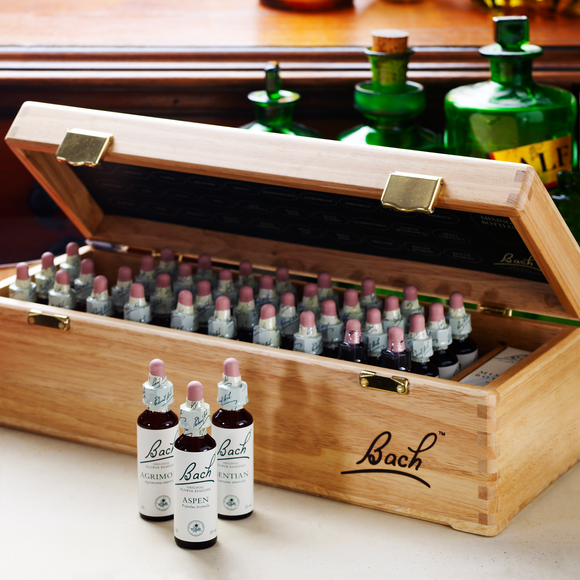 Bach Original Flower Remedies Wooden Boxed 20ml Set