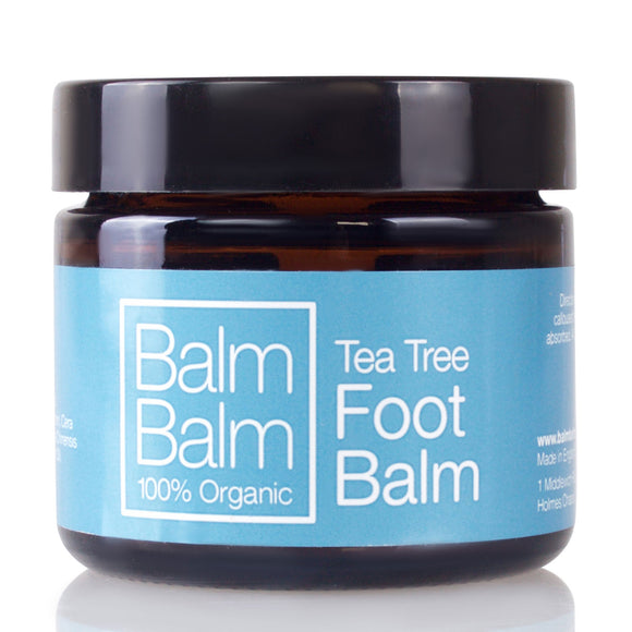 Balm Balm 100% Organic Foot Balm Tea Tree 60ml