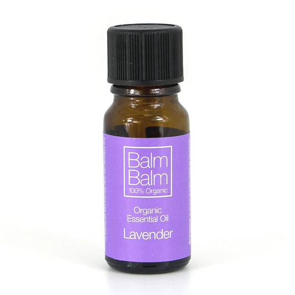 Balm Balm 100% Organic Pure Essential Oil - Lavender 10ml