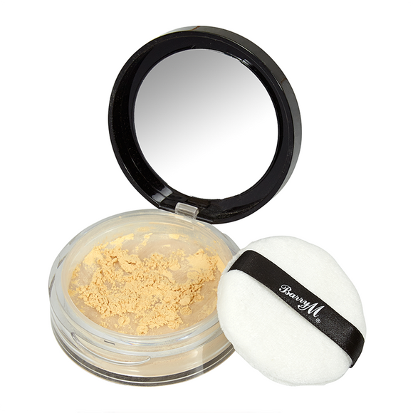 Barry M Ready Set Smooth Loose Setting Banana Powder 5.2g