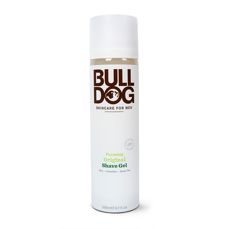 Bulldog Skincare For Men Foaming Original Shave Gel 200ml
