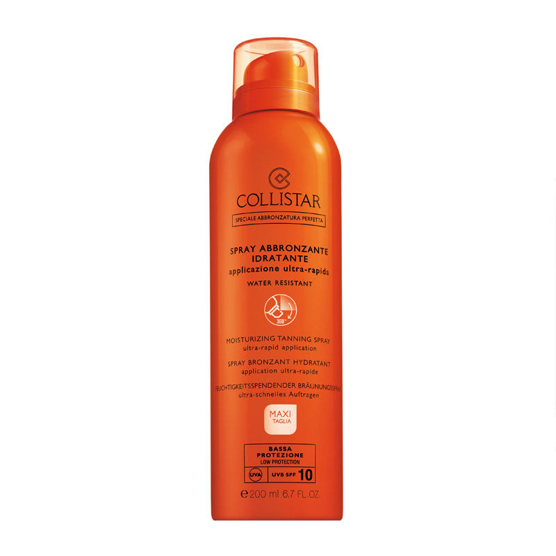 COLLISTAR Moisturizing Tanning Spray Ultra-Rapid Application SPF10 200ml