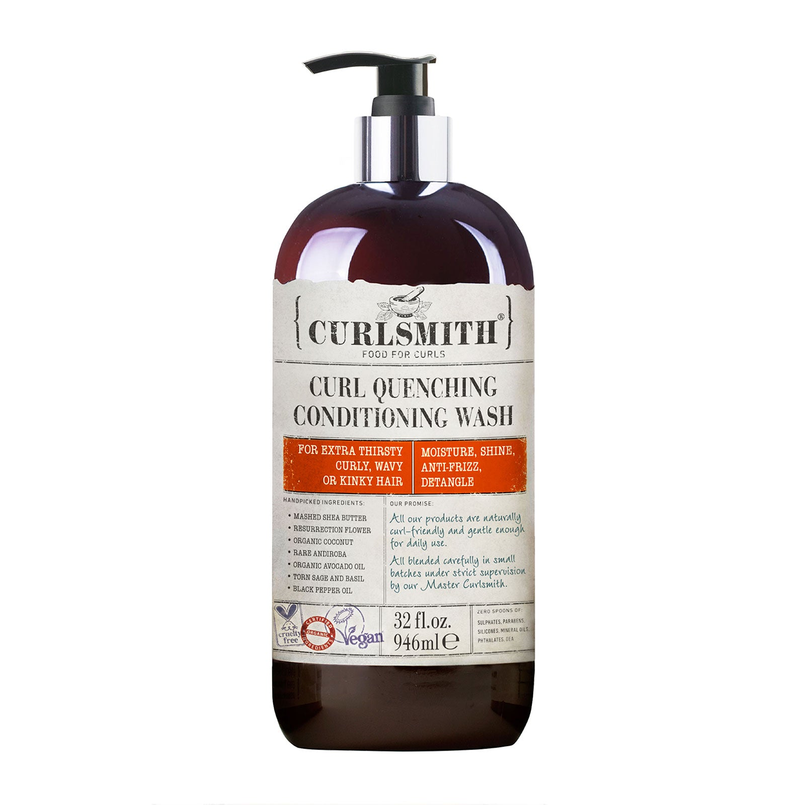 Curlsmith Curl Quenching Conditioning Wash XL 946ml