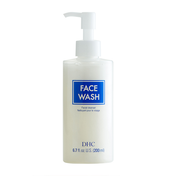 DHC Face Wash Facial Cleanser 200ml