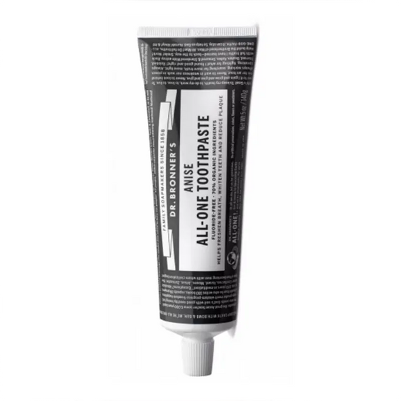 Dr Bronner's Anise All-One Toothpaste 140g