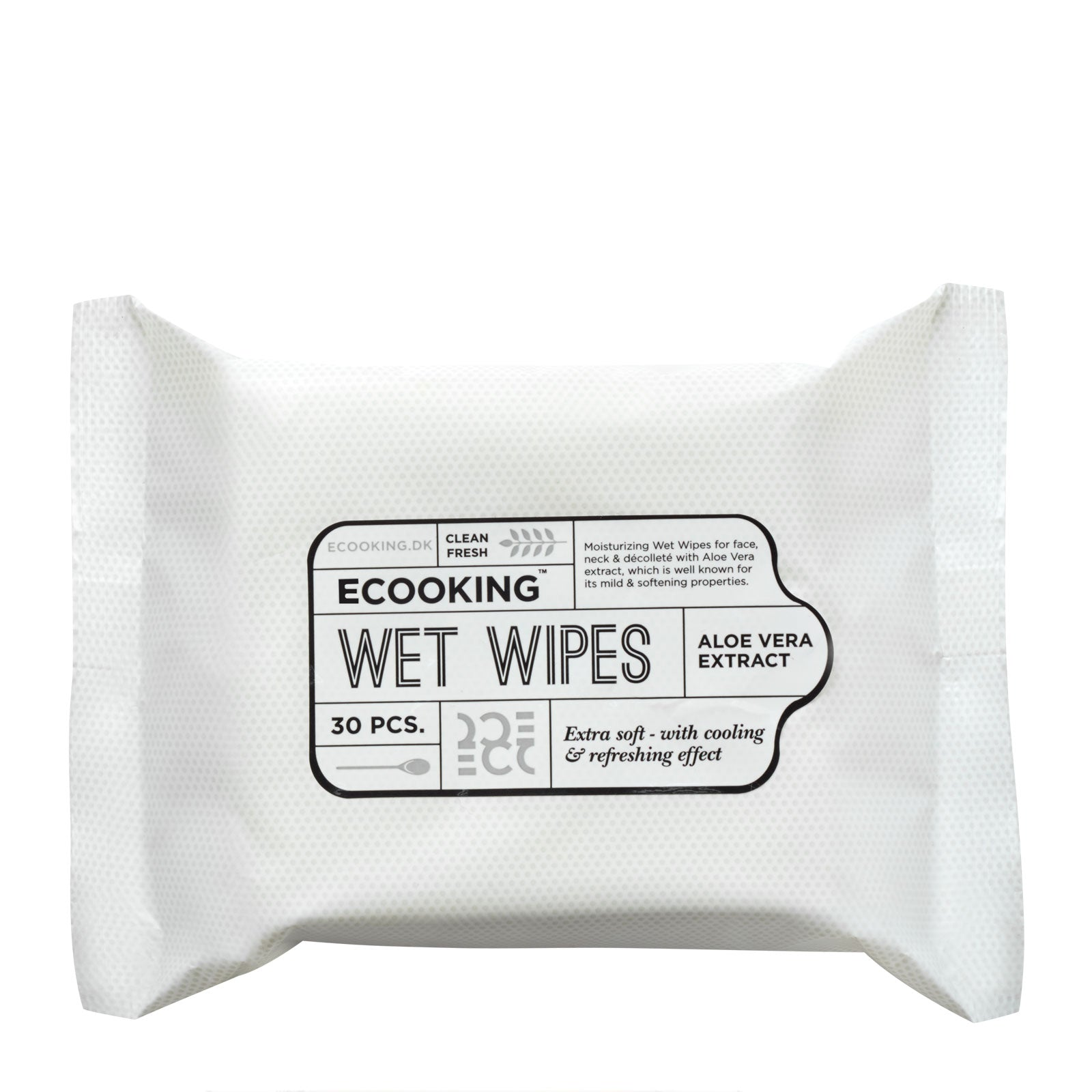 Ecooking™ Wet Wipes x 30 pcs.