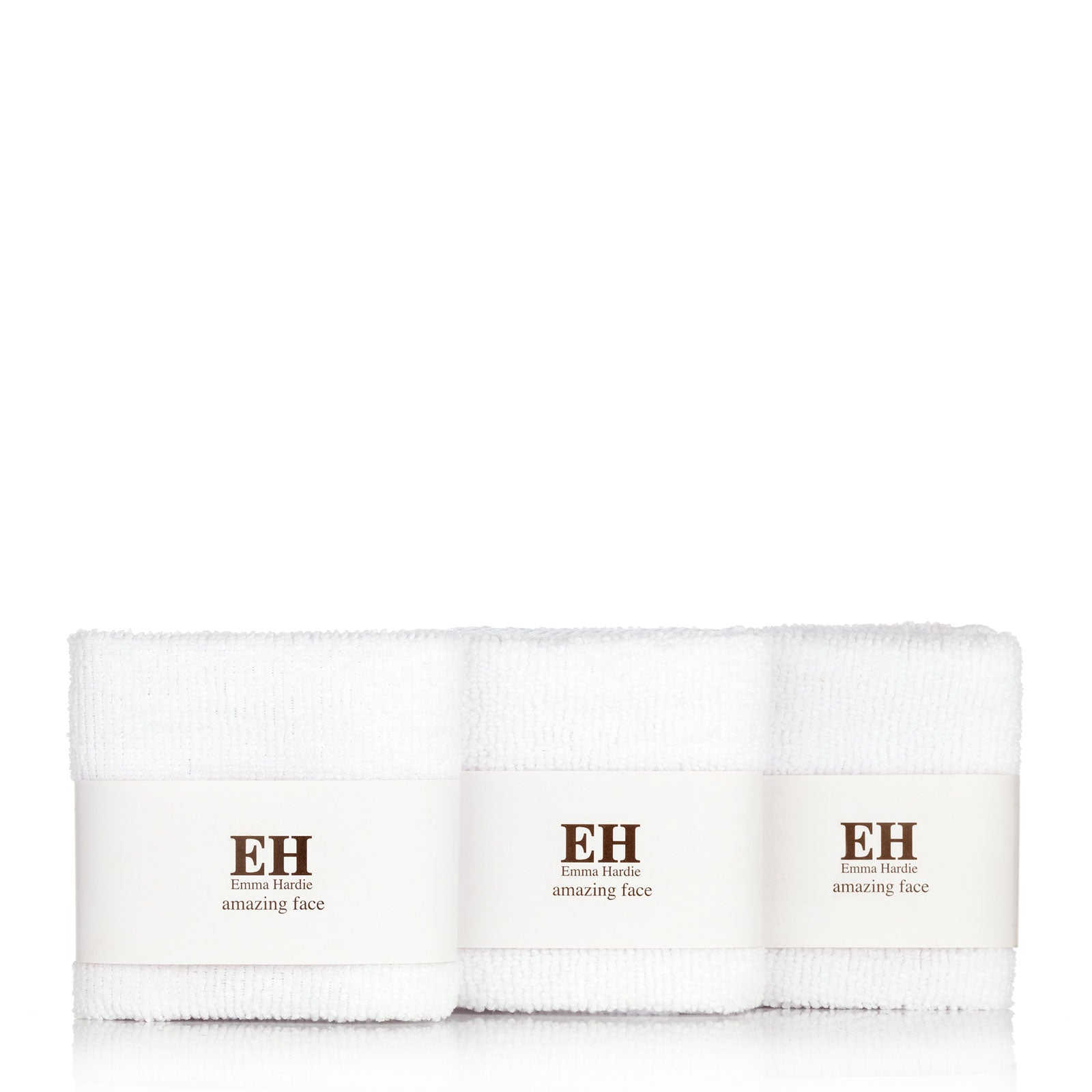 Emma Hardie Amazing Face Dual Action Professional Cleansing Cloths x3