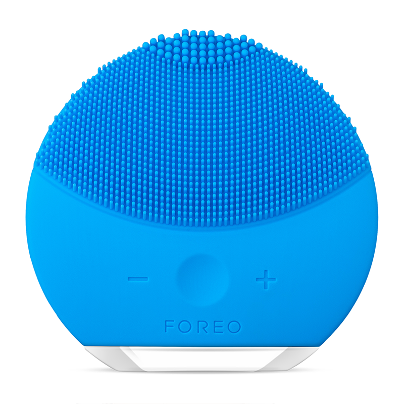 FOREO LUNA Mini 2 Dual-Sided Face Brush For All Skin Types - Aquamarine