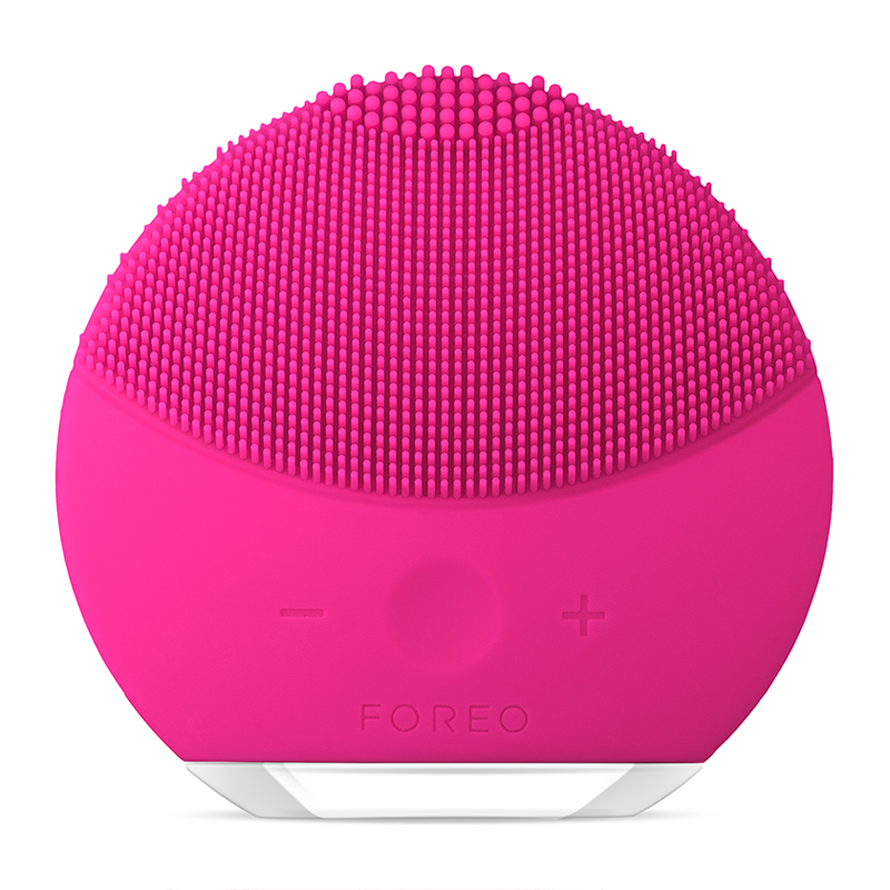 FOREO LUNA Mini 2 Dual-Sided Face Brush For All Skin Types - Fuchsia