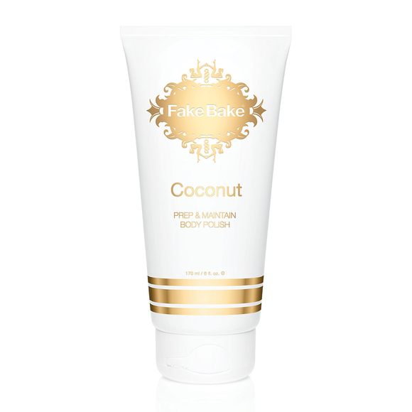 Fake Bake Black Coconut Oil Body Polish 178ml