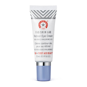First Aid Beauty FAB Skin Lab Retinol Eye Cream with Triple Hyaluronic Acid 15ml