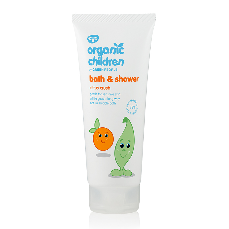 Green People Organic Children Bath & Shower - Citrus & Aloe Vera 200ml