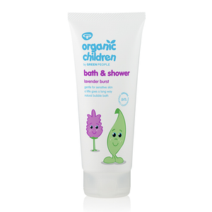 Green People Organic Children Bath & Shower - Lavender 200ml