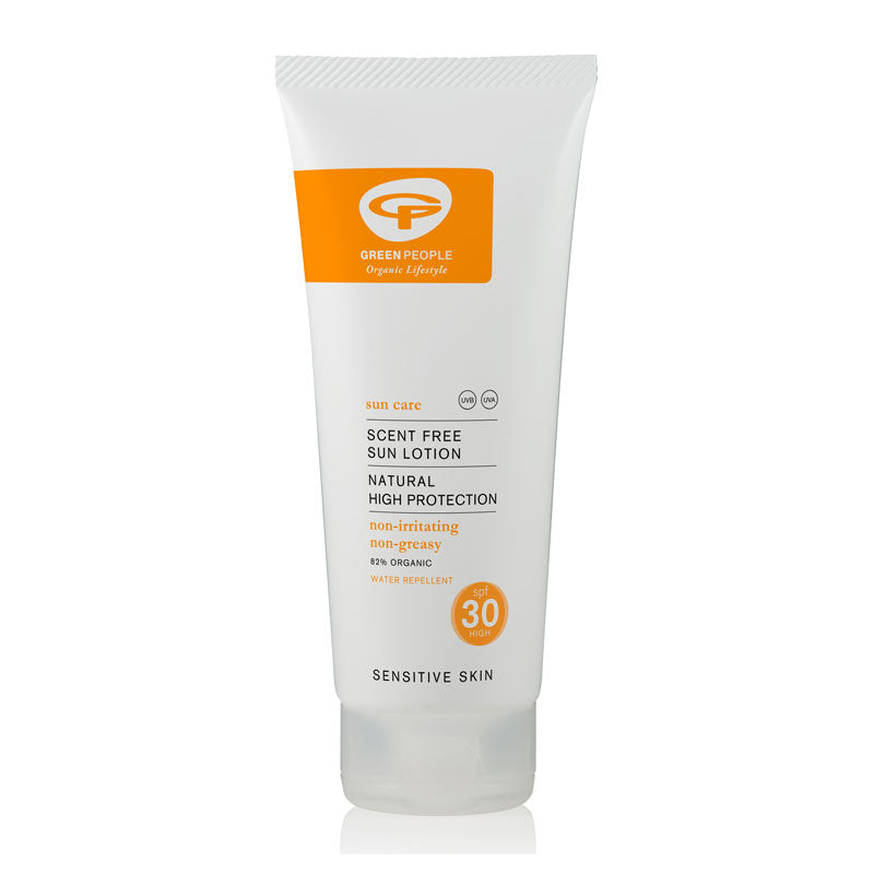 Green People Sun Lotion SPF30 Scent Free 200ml