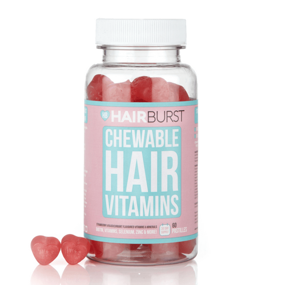 Hairburst Hearts Hair Vitamins 60 Pastilles