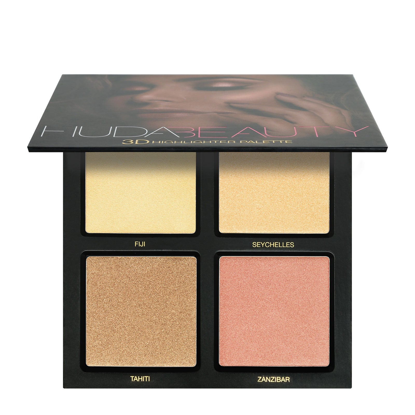 Huda Beauty 3D Highlight Palette Golden Sands 30g