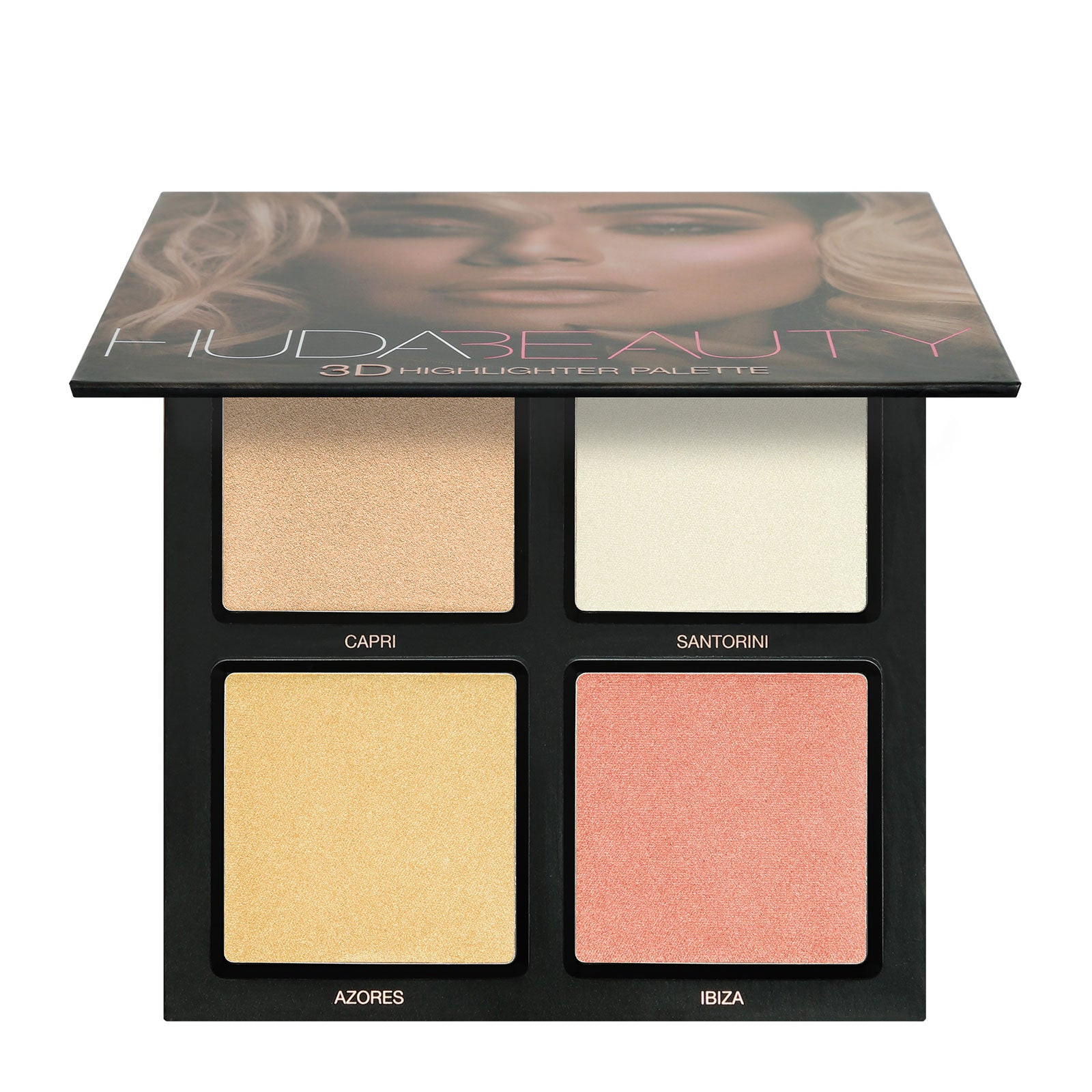 Huda Beauty 3D Highlight Palette Pink Sands 30g