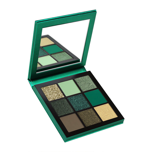 Huda Beauty Obsessions Precious Stones Eyeshadow Palette Emerald 10g