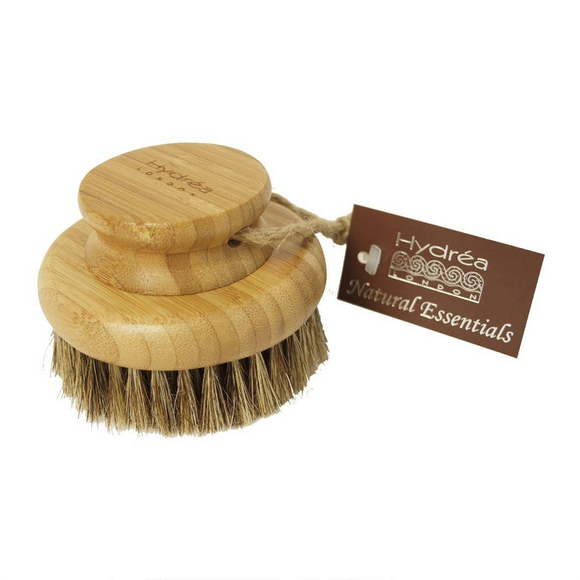 Hydréa London Bamboo Round Body Brush With Mane and Cactus Bristle