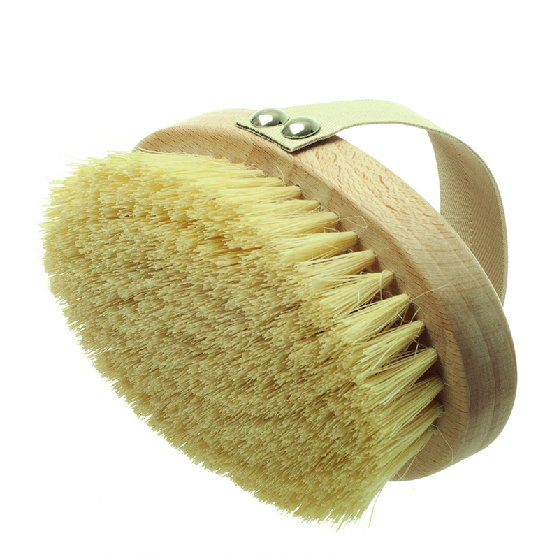 Hydréa London Professional Dry Skin Body Brush With Cactus Bristles - Hard Strength