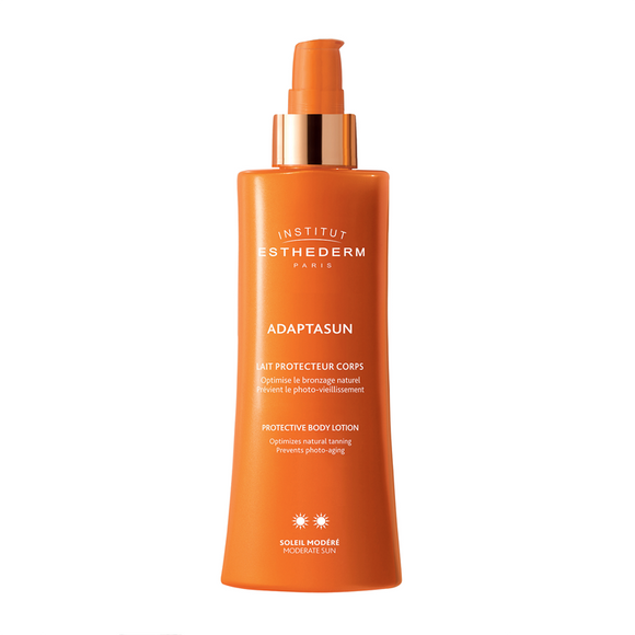 Institut Esthederm Adaptasun Protective Tanning Care Body Lotion - Moderate Sun 200ml