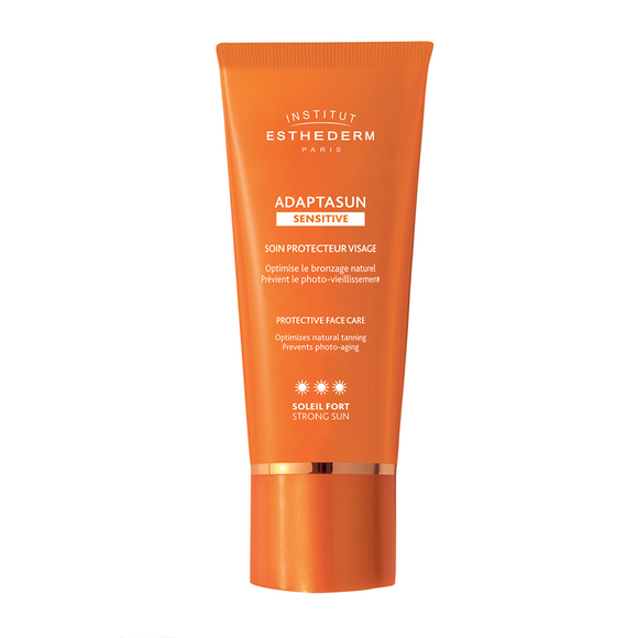 Institut Esthederm Adaptasun Sensitive Skin Protective Tanning Care Face Cream - Strong Sun 50ml