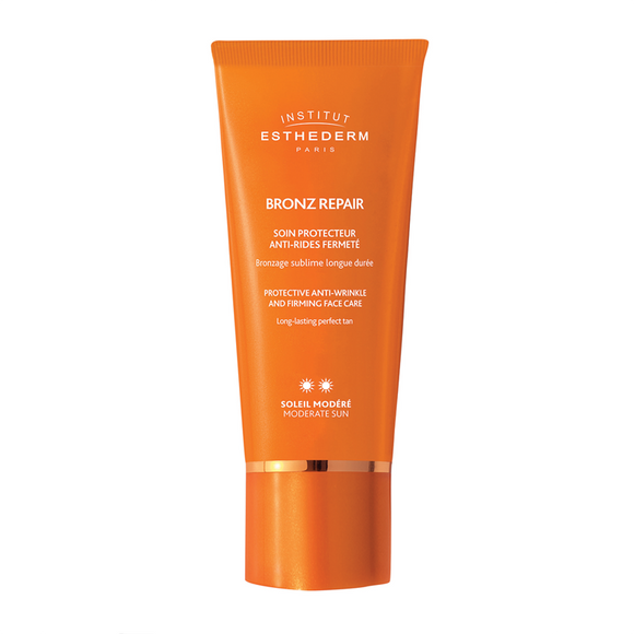 Institut Esthederm Bronz Repair Anti-Wrinkles Bronzing Sun Care Face Cream - Moderate Sun 50ml
