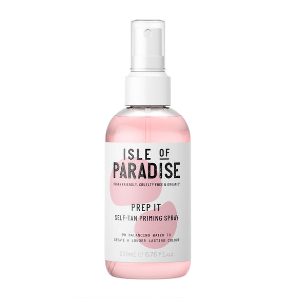 Isle of Paradise Prep It Self-Tan Priming Spray 200ml