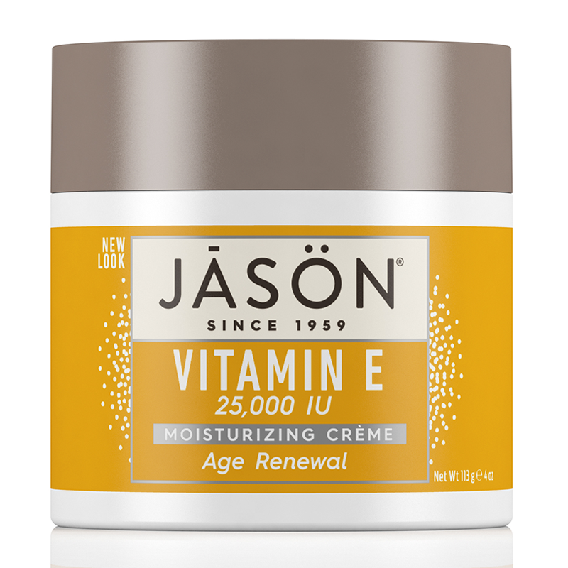 JASON Age Renewal Vitamin E 25,000 I.U. Pure Natural Moisturizing Crème 113g