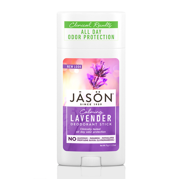 JASON Calming Lavender Pure Natural Deodorant Stick 71g
