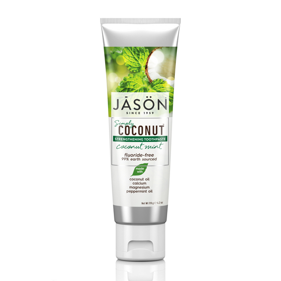 JASON Coconut™ Mint Strengthening Tooth Paste 119g