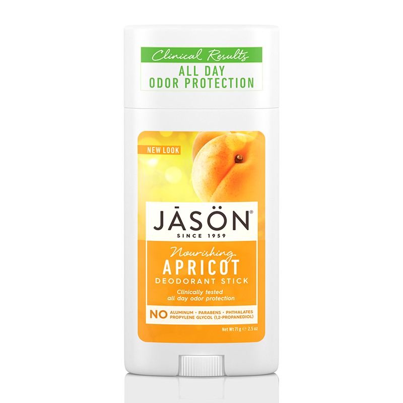 JASON Nourishing Apricot Pure Natural Deodorant Stick 71g