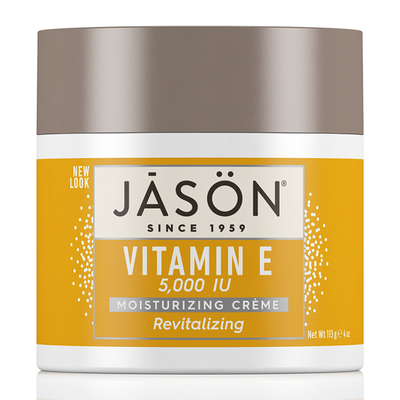JASON Revitalizing Vitamin E 5,000 I.U. Pure Natural Moisturizing Crème 113g