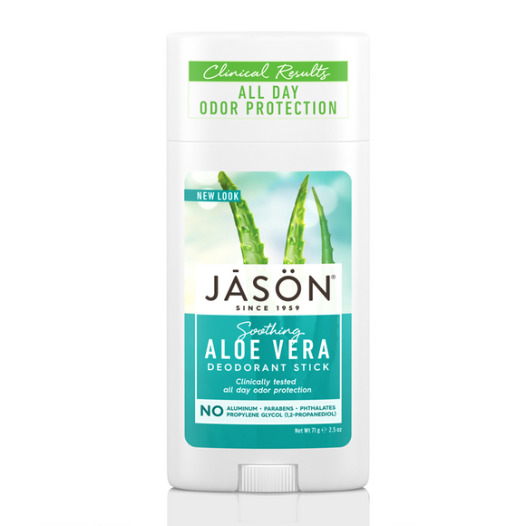 JASON Soothing Aloe Vera Pure Natural Deodorant Stick 71g