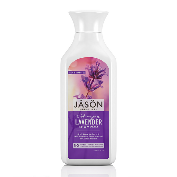 JASON Volumizing Lavender Pure Natural Shampoo 473ml