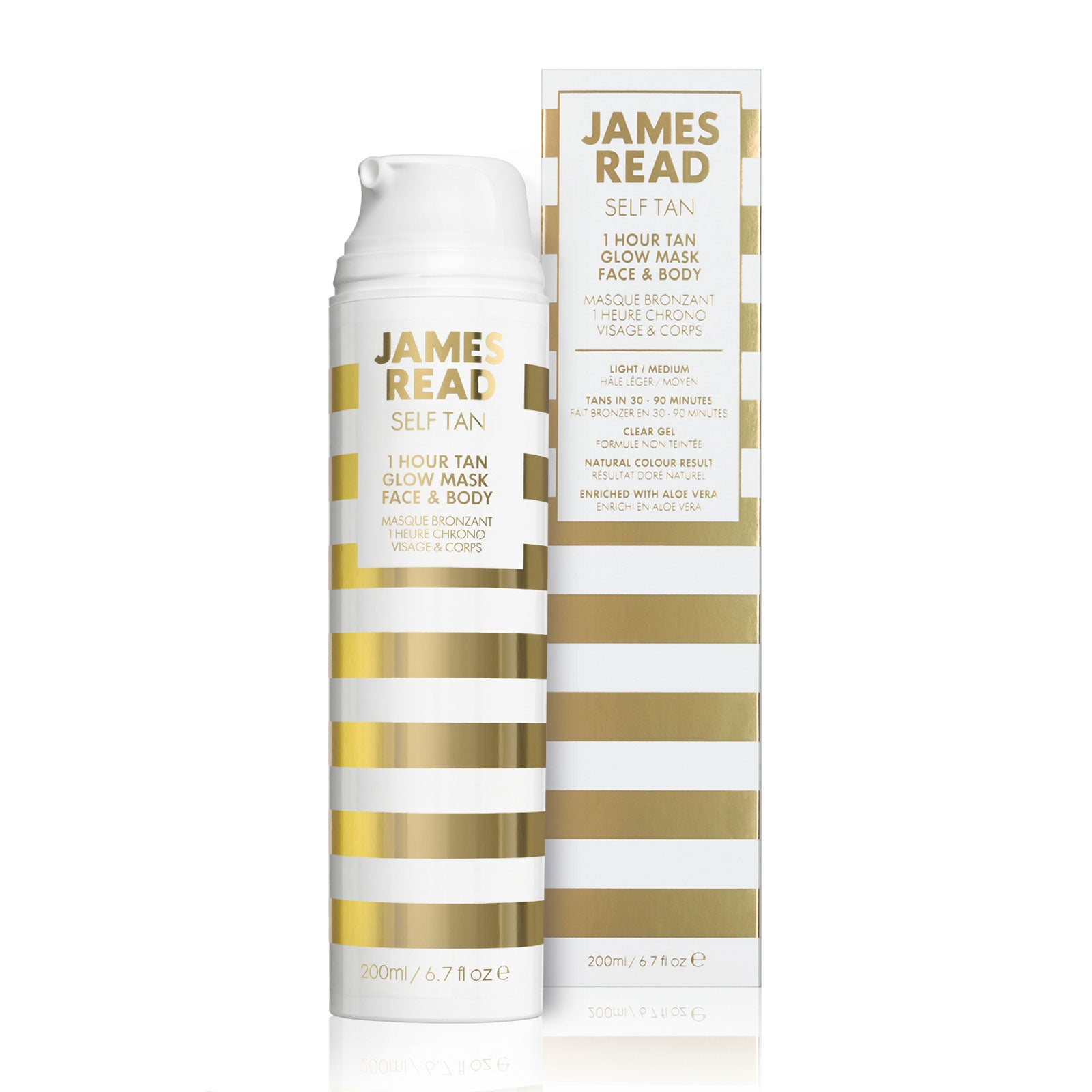James Read 1 Hour Tan Glow Mask Face & Body 200ml