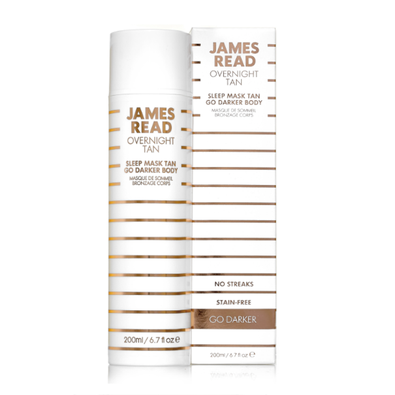 James Read Tan Sleep Mask Go Darker Body 200ml