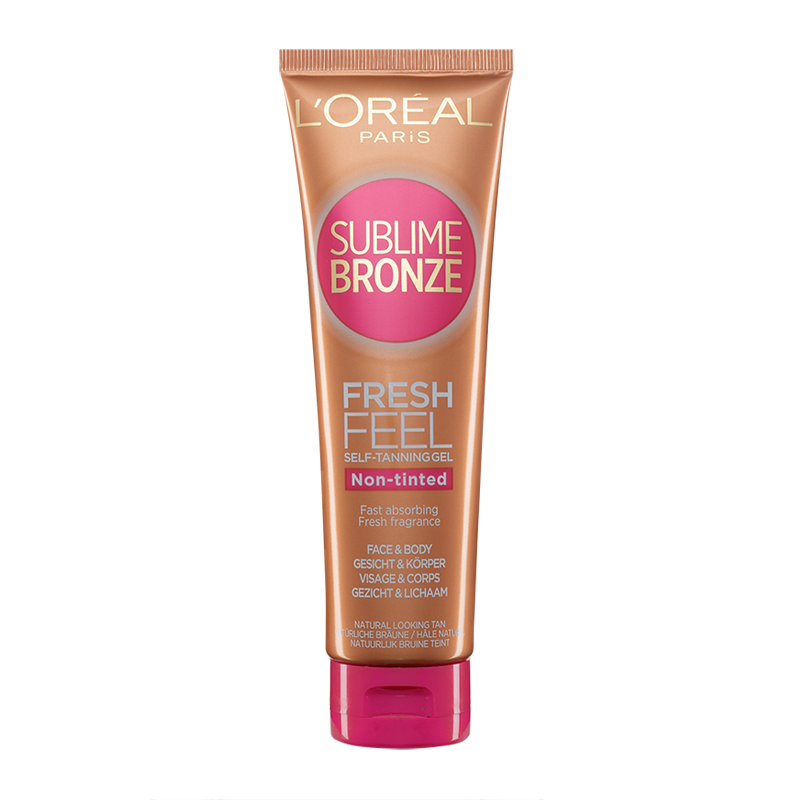 L'Oréal Paris Sublime Bronze Face and Body Gel Non-Tinted 150ml