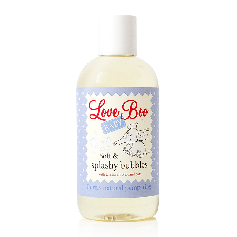Love Boo Baby Soft & Splashy Bubbles 250ml