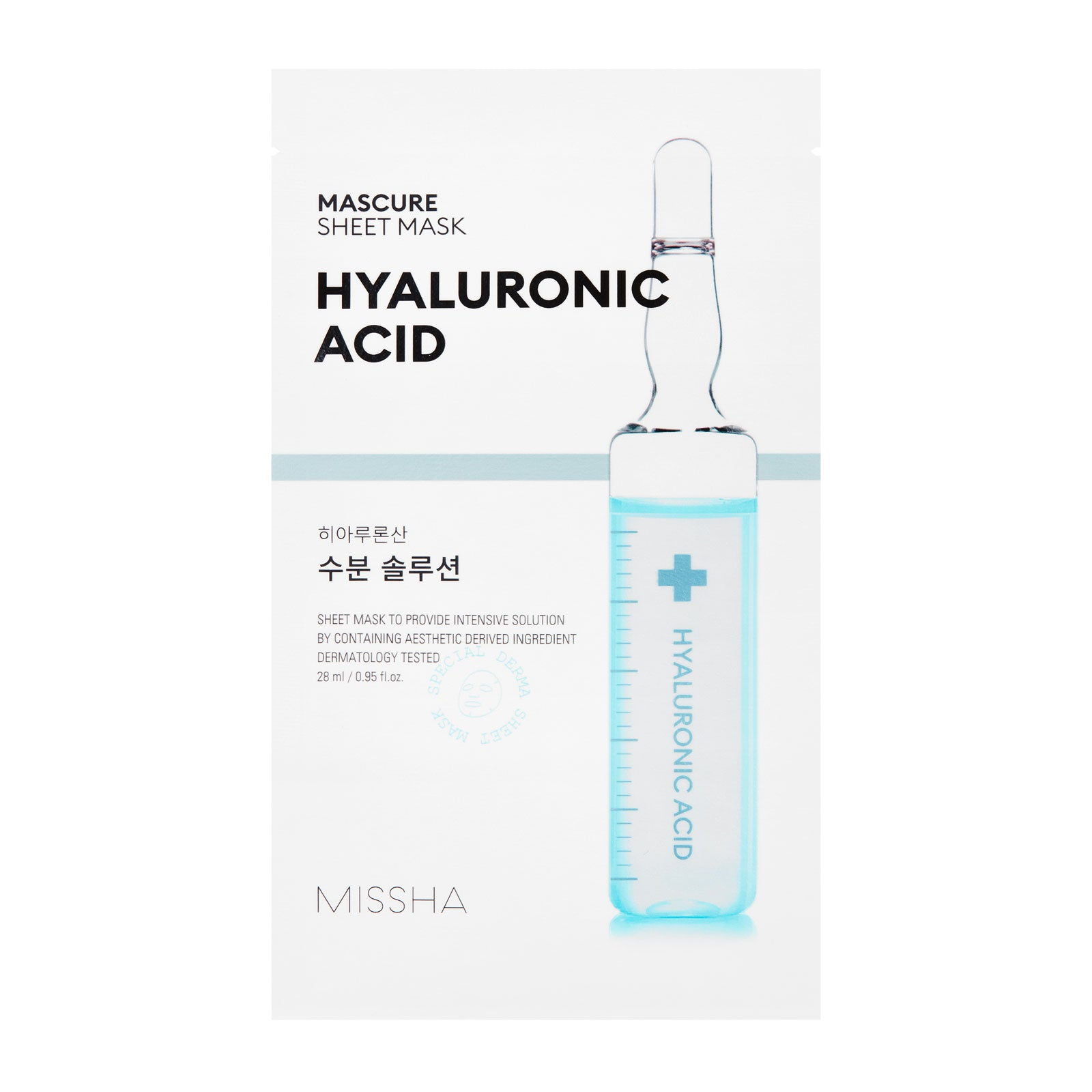 MISSHA Mascure Hyaluronic Acid Hydra Sheet Mask 27ml