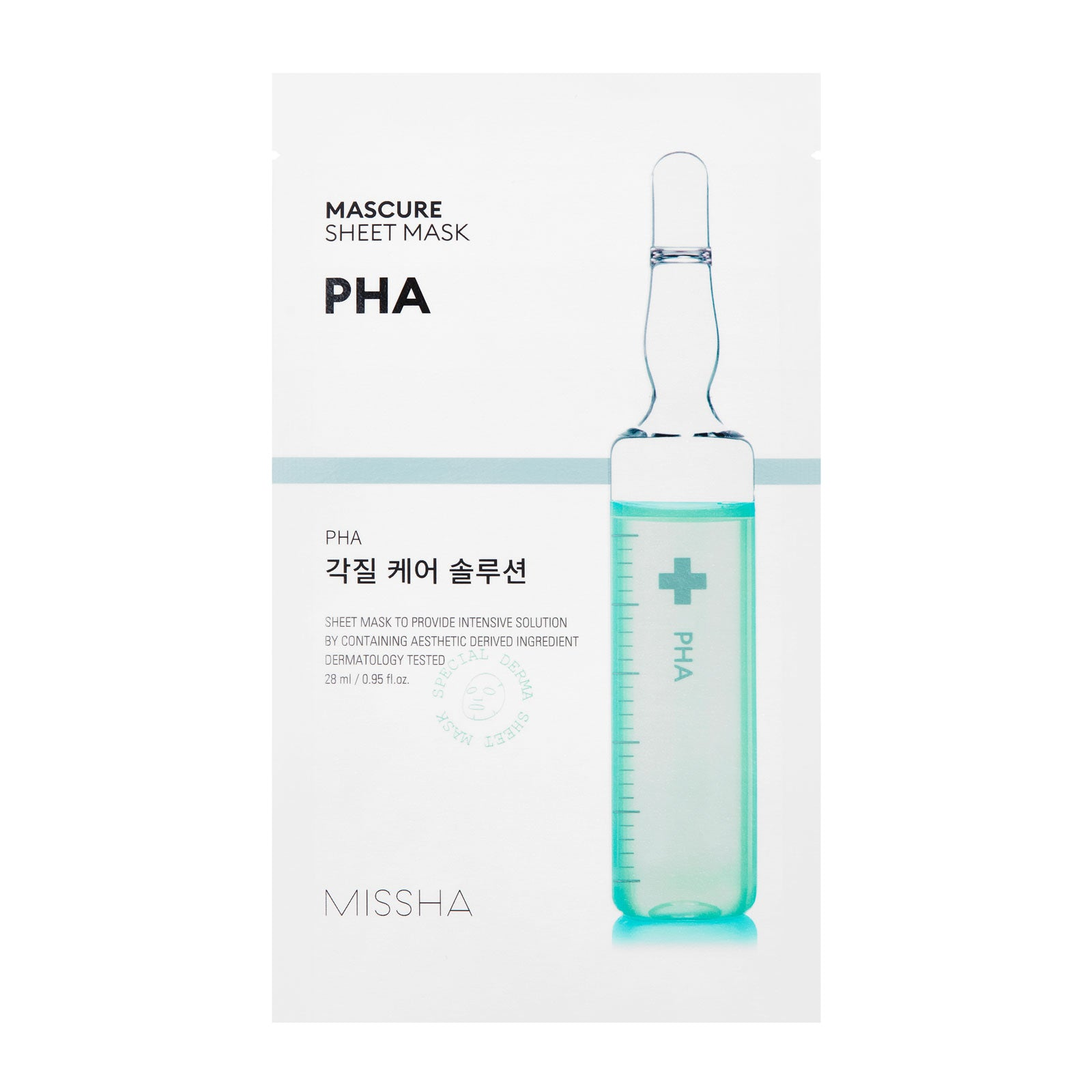 MISSHA Mascure PHA Peeling Sheet Mask 27ml