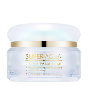 MISSHA Super Aqua Cell Renew Snail Cream 52ml