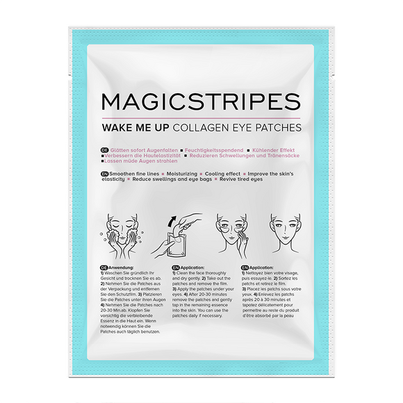 Magicstripes Wake Me Up Collagen Eye Patch