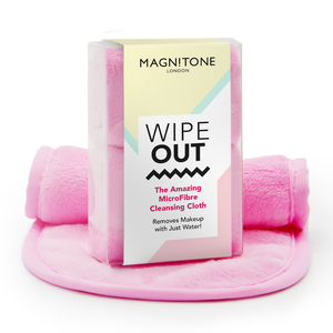 Magnitone London WipeOut! The Amazing MicroFibre Cleansing Cloth Pink x 2