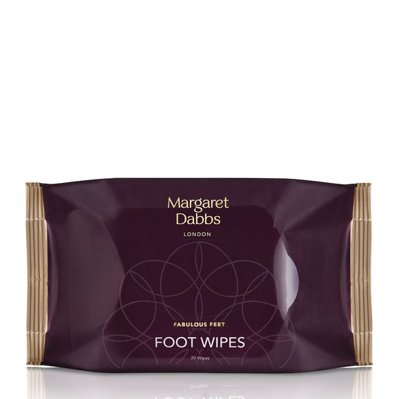 Margaret Dabbs Foot Cleansing Wipes x 20