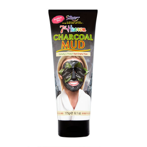 Montagne Jeunesse 7th Heaven Charcoal Mud Masque Tube 175g