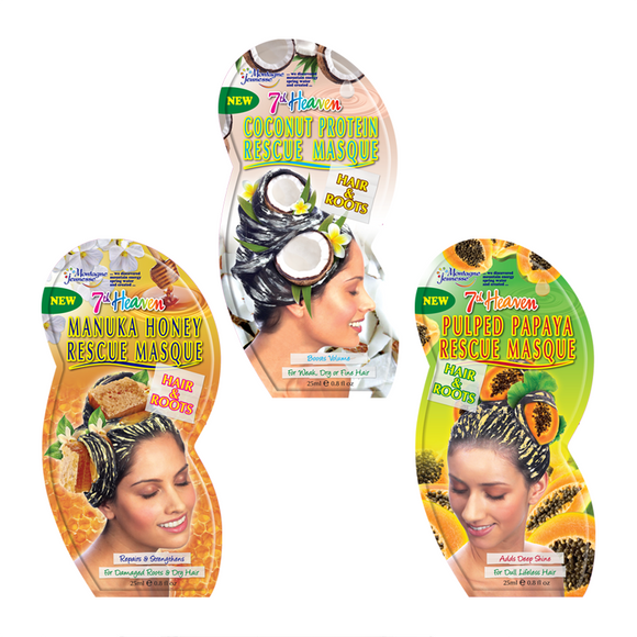 Montagne Jeunesse 7th Heaven Hair Therapy Pack x 3