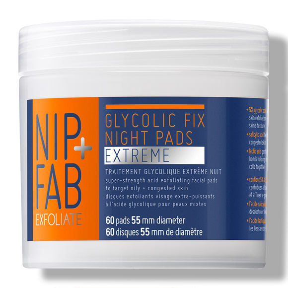 NIP+FAB Glycolic Fix Extreme Night 60 Pads