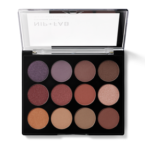 NIP+FAB Make Up Eyeshadow Palette Fired Up 12g